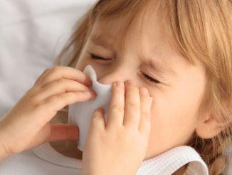 зимние болезни у детей рано постучали в дверь