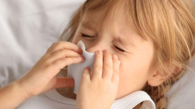 Winterkrankheiten bei Kindern haben früh an die Tür geklopft