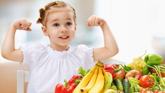 Lebensmittel zur Stärkung des kindlichen Immunsystems