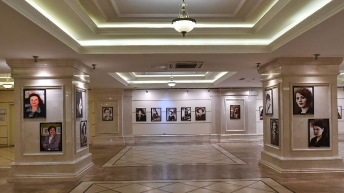 Die führenden Frauen unserer Fotoausstellung der Republik trafen sich mit den Hauptstädten