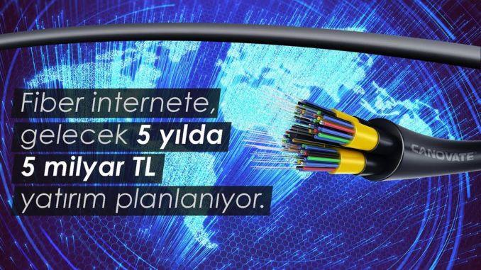 مليار ليرة تركية في الاستثمار عبر الألياف الضوئية العام المقبل