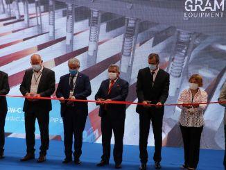 грам опрема отворила је свој нови погон у Егејској слободној зони