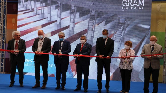 gram equipment opened its new facility in the Aegean Free Zone