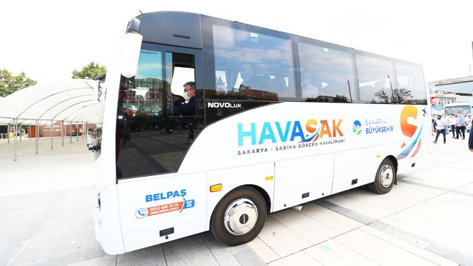 Havasak je prevezao hiljadu putnika do aerodroma Sabiha Gokcen