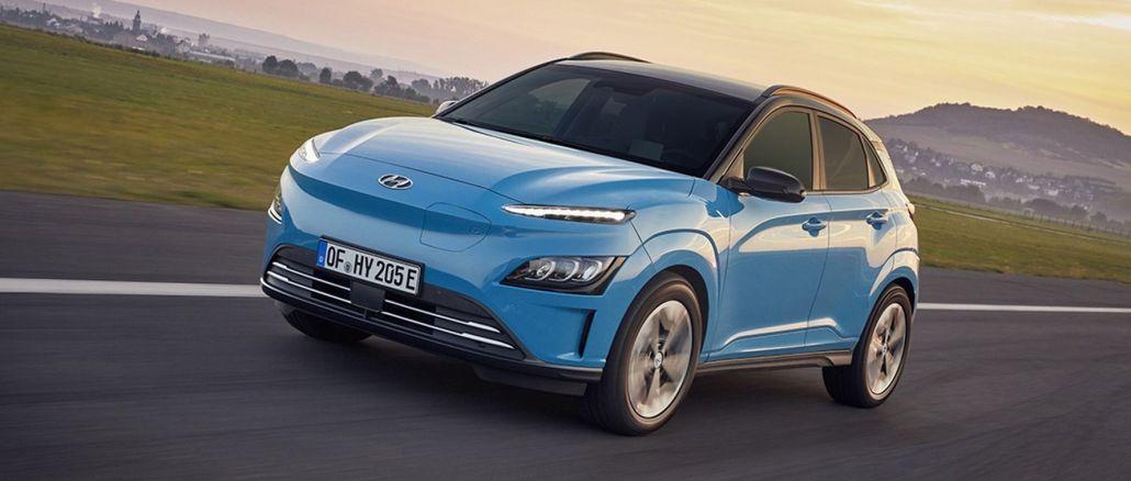 hyundai Assan Kona electric SUV model is for sale in Turkey