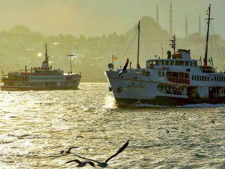 ibb je napovedal, da s trajektom istanbul bospor ne bo jutri
