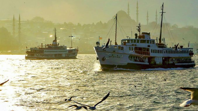 ibb announced that istanbul bosphorus ferry trips will not be made tomorrow