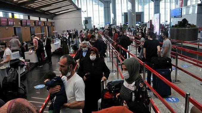 تعميم من وزارة الداخلية بشأن إجراءات الدخول إلى البلاد