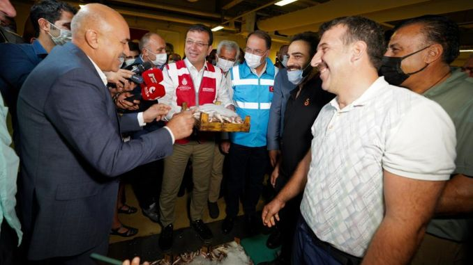 imamoglu said vira bismillah with the fishermen for the new season