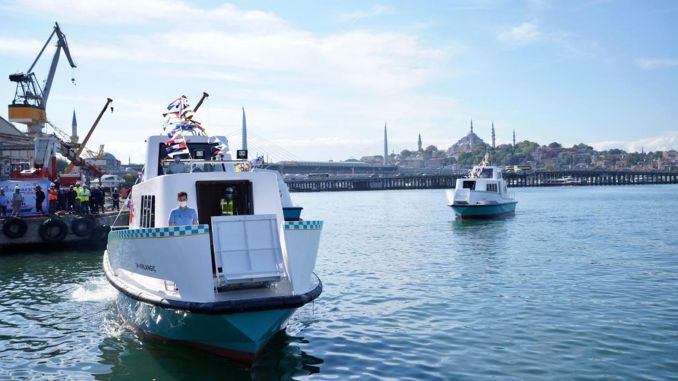istanbul sea taxi fares became lira