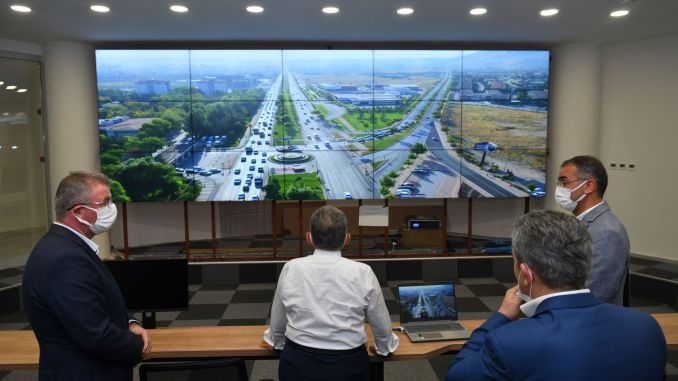 towards the end of the kayseri traffic signaling center project