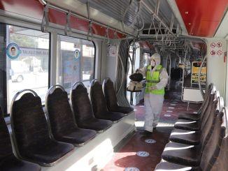 Kayseri-Transport als tausendmal desinfizierte ÖPNV-Fahrzeuge