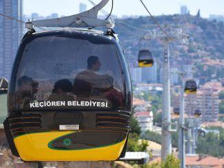 kecioren 纜車線路正在維護以確保安全運輸
