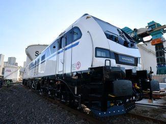 Korfez Transportation recibió las primeras locomotoras híbridas de Turquía