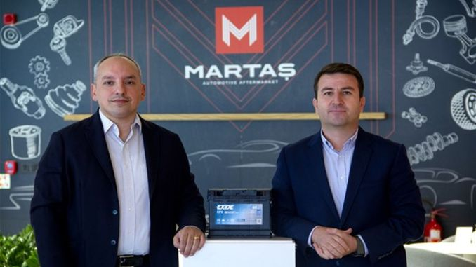 martas automotive became the official turkey distributor of world giant exide