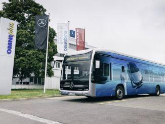 мобилност мерцедес бенз ецитаро иаа такође је обезбедила превоз без емисија