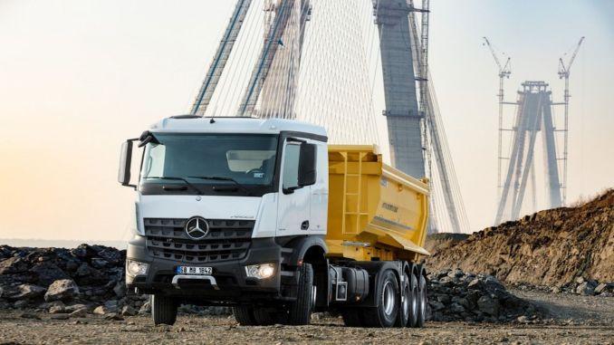 мерцедес бенз турк нуди нове предности у сервисирању камиона