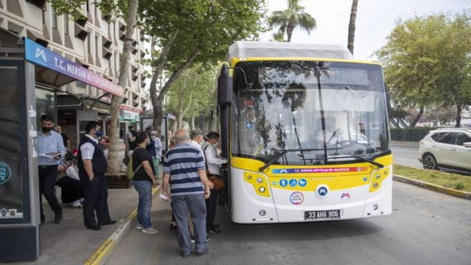 Field work has been completed for the new bus that will be taken by Mersin Büyükşehir