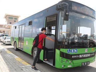 skoler åbnede, denizli storby by øget busforbindelser