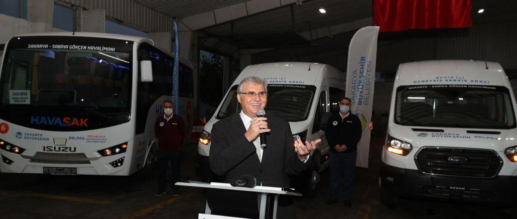 Sakarya Buyuksehir Havasak expands its vehicle fleet