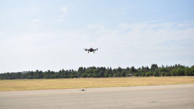 Kampf gegen Drohnen-Wettbewerb auf dem Flughafen Bursa Yunuseli gestartet