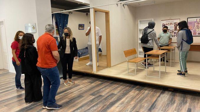obrazovanje o potresima sa simulacijom za šehide i djecu veterane