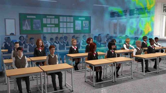 Simulations help make classrooms safer in the pandemic