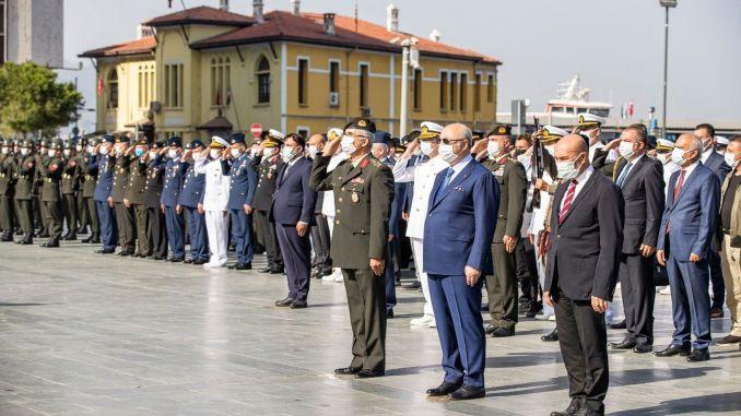 索耶出席退伍軍人節儀式