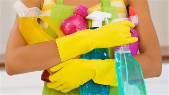 The reason for the obsession with cleaning is based on past traumas.