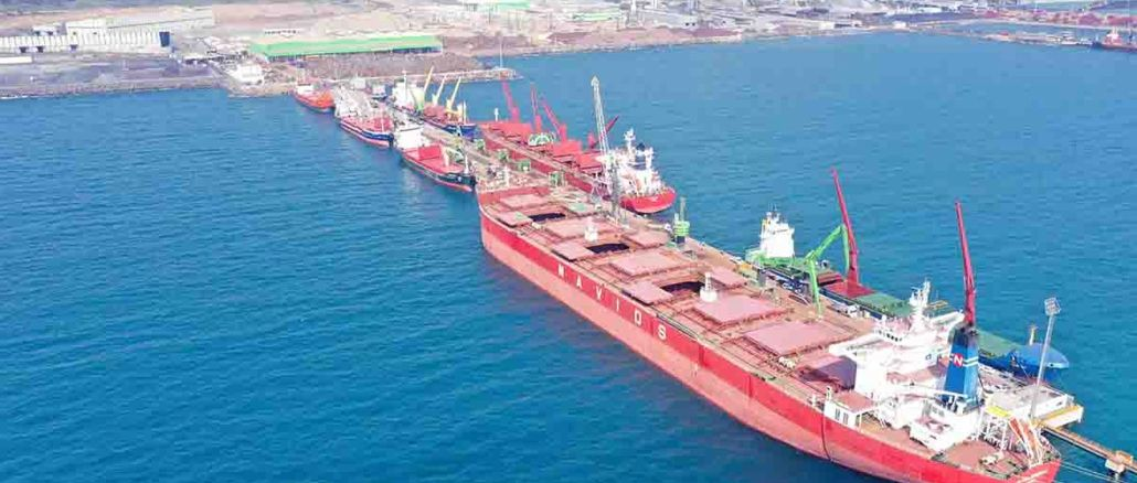 Another record from the port of tosyalı iskenderun
