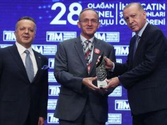 toyota automotive industry export champion award to turkey