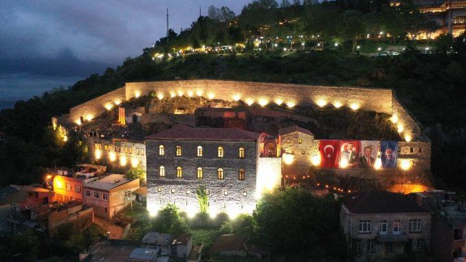 trabzonda restorasyonu tamamlanan kizlar manastiri ziyarete acildi