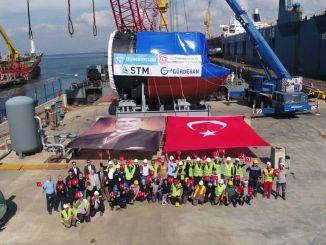 土耳其首次生产潜艇部分