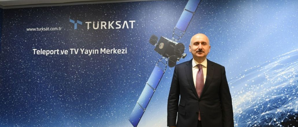 Turkey's first national communications satellite turksat will launch a bear spacex
