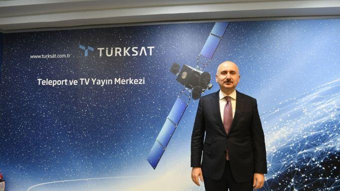 Der erste nationale Kommunikationssatellit der Türkei, Turksat, wird einen Bärenraum startenx