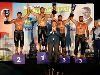 Huseyin Gümüsalanin osvojio je zlatni pojas u ulugazi uljnim hrvačima
