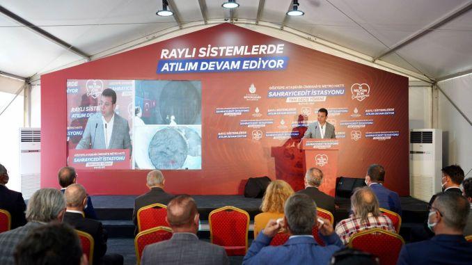 Percent of umraniye ataşehir goztepe metro project has been completed