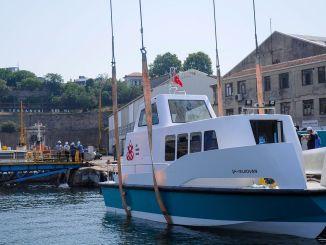 Se acerca el taxi marítimo ambiental de nueva generación.