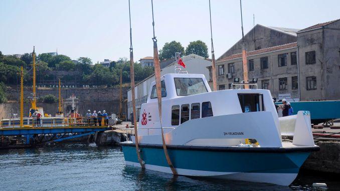 yeni nəsil ekoloji dəniz taksisi gəlir