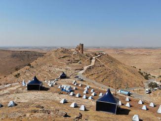 grad Zerzevan je pripravljen za mednarodno opazovalno prireditev