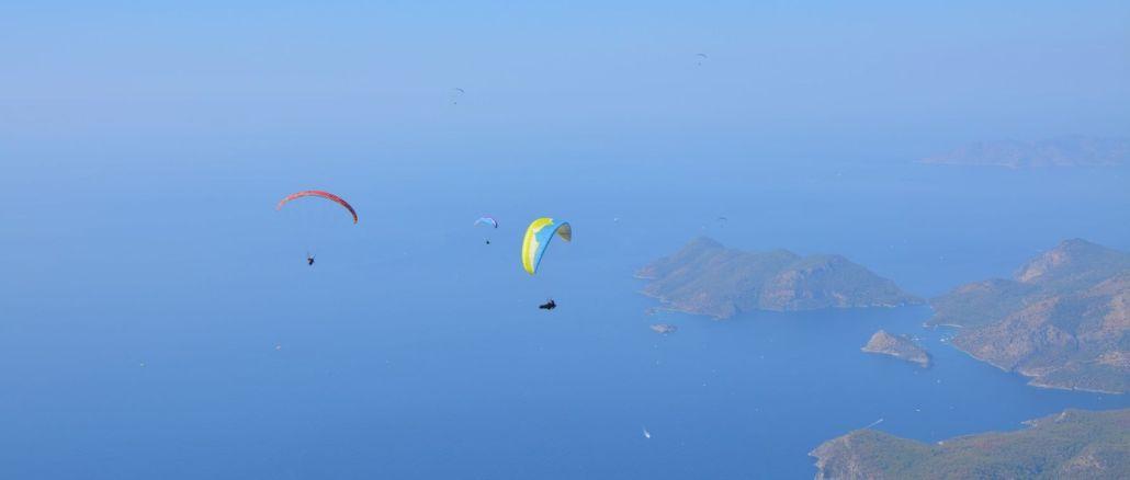 International Fethiye Oludeniz Air Games Festival has started