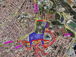 Quy định lưu lượng truy cập Taksim vào ngày 29 tháng XNUMX