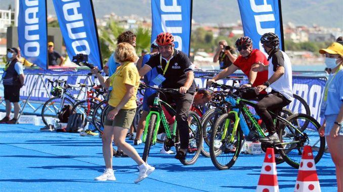 alanya triathlon nostalgia race was held