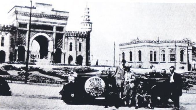 First Car in Istanbul