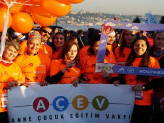 يدعوك ACEV للجري في ماراثون اسطنبول للدراسة في المستقبل