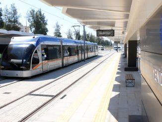 antalya etape jernbanesystem begynder at transportere passagerer