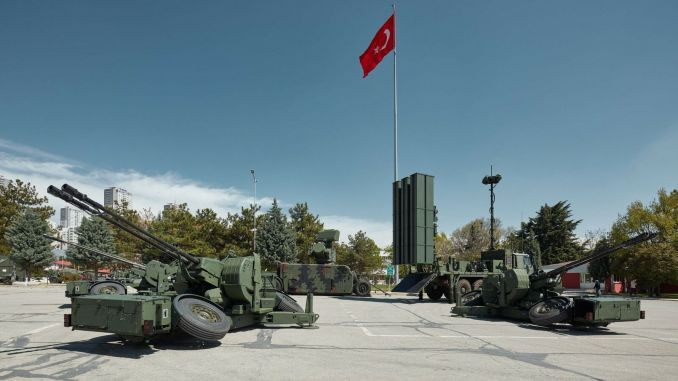 air defense system delivery from aselsan