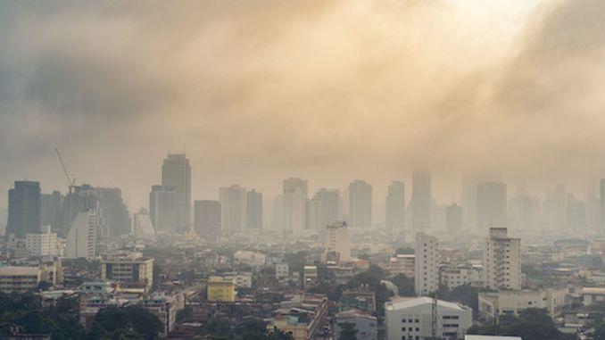air pollution effect on covid deaths