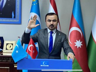 بفضل تركيا من رئيس شرق تركستان