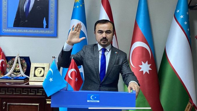 Thanks to turkey from the president of east turkistan
